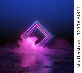 3d render  abstract background  ...   Shutterstock . vector #1211670811