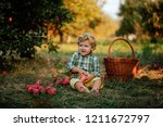 small baby boy | Shutterstock . vector #1211672797