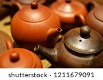 traditional chinese clay... | Shutterstock . vector #1211679091