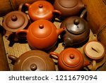 traditional chinese clay... | Shutterstock . vector #1211679094