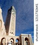 the extravagant highest minaret ... | Shutterstock . vector #1211732641