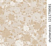 seamless pattern. camouflage... | Shutterstock .eps vector #1211758081