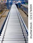 conveyor | Shutterstock . vector #121176004