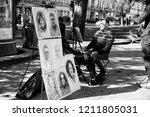 lviv   ukraine   october 06 ... | Shutterstock . vector #1211805031