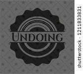 undoing dark icon or emblem   Shutterstock .eps vector #1211833831