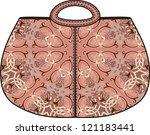 bag for paisley pattern vector... | Shutterstock .eps vector #121183441