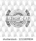 bathing cap grey emblem with...   Shutterstock .eps vector #1211839834