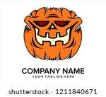 helloween logo vector | Shutterstock .eps vector #1211840671