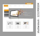 creative autumn theme website...