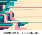 abstract wallpaper design in... | Shutterstock .eps vector #1211902381