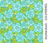 beautiful floral pattern....   Shutterstock .eps vector #1211930401