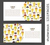 vector illustration with... | Shutterstock .eps vector #1211936101