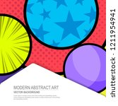 abstract creative vector layout ...