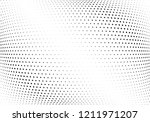 abstract halftone wave dotted...   Shutterstock .eps vector #1211971207