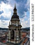 bell tower of st. stephen's...   Shutterstock . vector #1211986387