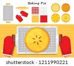 illustration vector flat... | Shutterstock .eps vector #1211990221