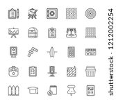 collection of 25 board outline...   Shutterstock .eps vector #1212002254