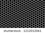 white honeycomb on a black... | Shutterstock . vector #1212012061