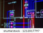 virtual system modelling and... | Shutterstock . vector #1212017797