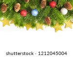 christmas and happy new year...   Shutterstock . vector #1212045004