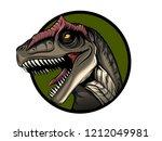 Allosaurus. Dinosaur. Portrait...