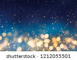christmas light background. ... | Shutterstock . vector #1212055501