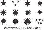 black simple flat style light... | Shutterstock .eps vector #1212088054