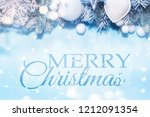 christmas holidays background... | Shutterstock . vector #1212091354