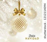 feliz navidad   christmas... | Shutterstock .eps vector #1212114094