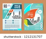 poster brochure flyer design... | Shutterstock .eps vector #1212131707