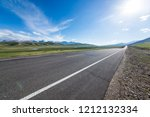 snow mountain prairie highway   Shutterstock . vector #1212132334