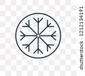 frost vector outline icon...   Shutterstock .eps vector #1212134191