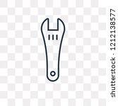 repair wrench vector outline...   Shutterstock .eps vector #1212138577