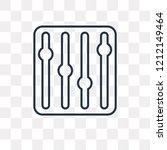 settings vector outline icon...   Shutterstock .eps vector #1212149464