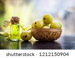 close up of indian gooseberry... | Shutterstock . vector #1212150904