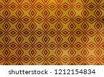 dark yellow vector cover in... | Shutterstock .eps vector #1212154834