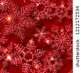 winter seamless pattern with... | Shutterstock .eps vector #1212172534