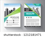 brochure template layout  cover ... | Shutterstock .eps vector #1212181471