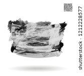 grey brush stroke and texture....   Shutterstock .eps vector #1212228577