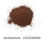 fresh medium ground coffee | Shutterstock . vector #1212236404