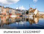 landscape view of the harbour... | Shutterstock . vector #1212248407