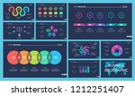 creative business infographic... | Shutterstock .eps vector #1212251407