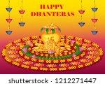 vector design of happy... | Shutterstock .eps vector #1212271447