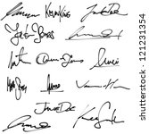 Signatures Set   Group Of...