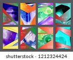 abstract background cover... | Shutterstock .eps vector #1212324424
