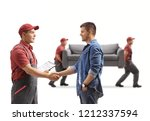 Man Shaking Hands With A...