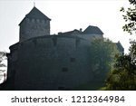 view on the castle of vaduz ... | Shutterstock . vector #1212364984