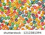 Background Of Colorful Cereal...