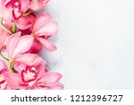 beautiful pink blossoms of... | Shutterstock . vector #1212396727