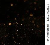 christmas light background. ... | Shutterstock . vector #1212402637